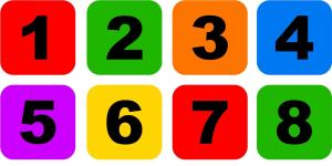 number-icon-set