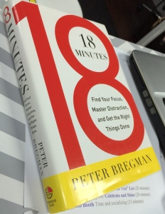 Author Peter Bregman explains how people can get focused in just 18 minutes.