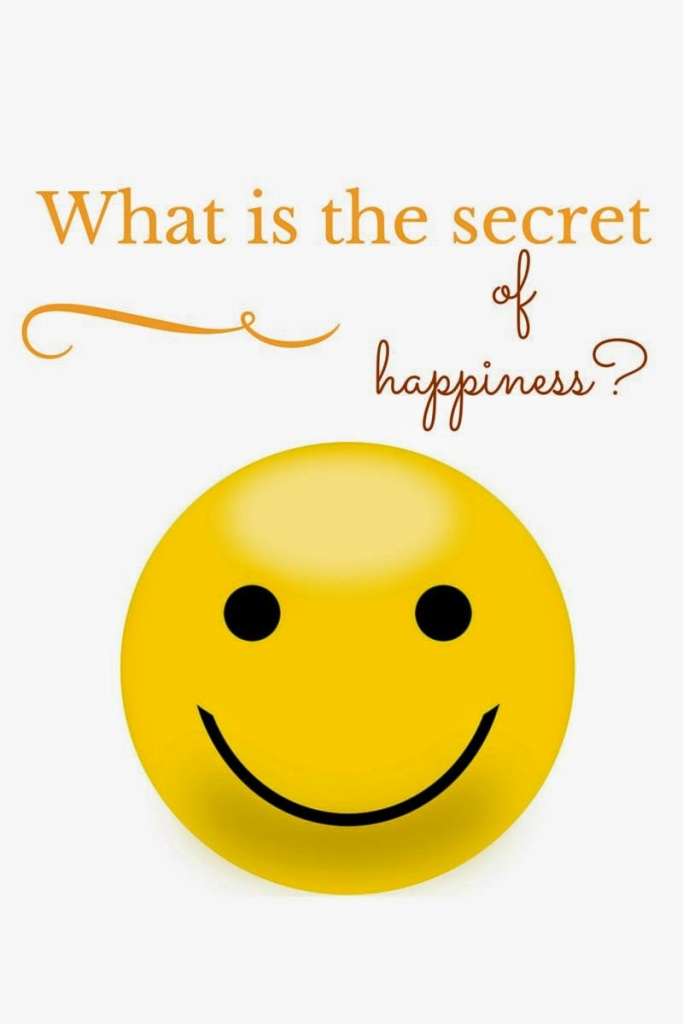 What is the secret of happiness_-2