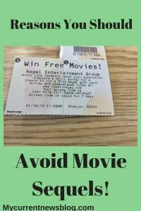 Boycott Hollywood--Avoid Movie Sequels