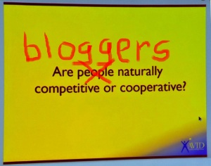 Are #bloggers competitive?