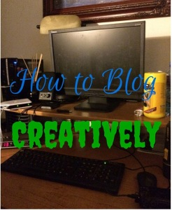 Creative blogging can help improve blog traffic.