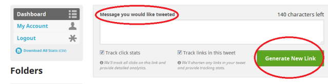Screenshot 1 Use Click to Tweet to Increase Blog Promotion
