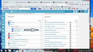 Search Engine Referrers Screen Shot