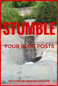 Stumble Upon Can Help Increase Page Views