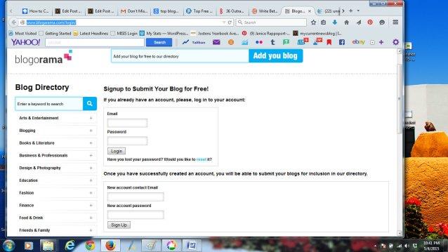 Blogorama Screenshot