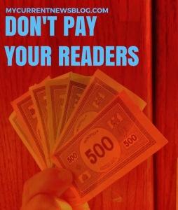 #Blogging Incentives